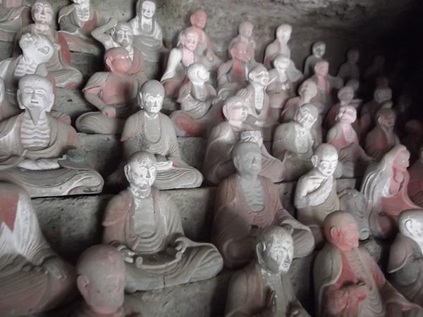 羅漢寺の五百羅漢