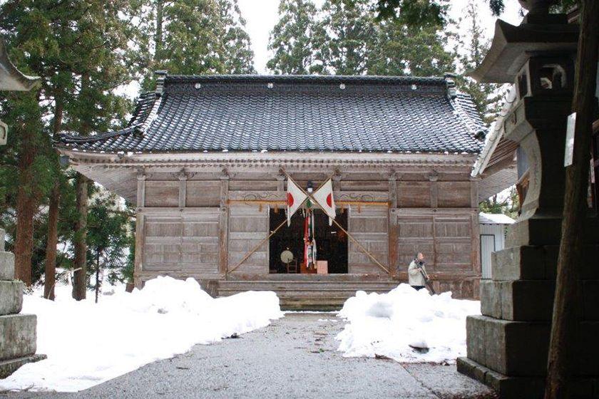 佐渡島の五所神社