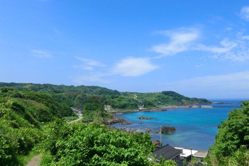 佐渡島の小木海岸