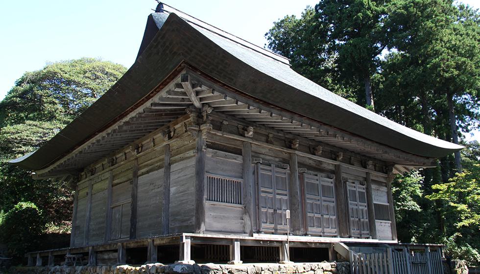 佐渡島の蓮華峰寺
