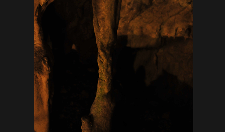 龍泉洞の石柱