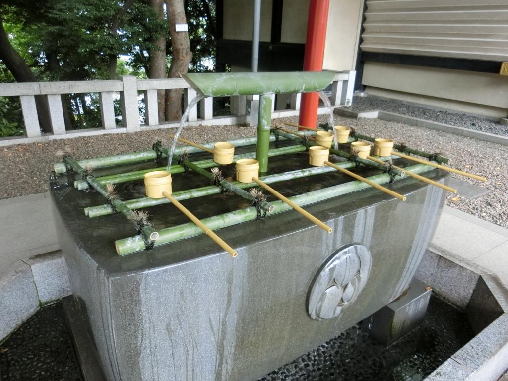 日枝神社 手水舎