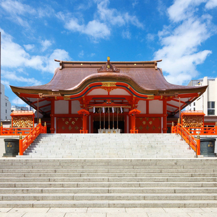 花園神社 本殿