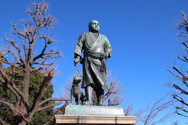 上野恩賜公園 西郷隆盛像