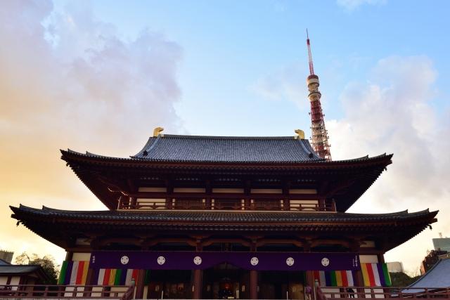 増上寺 本堂