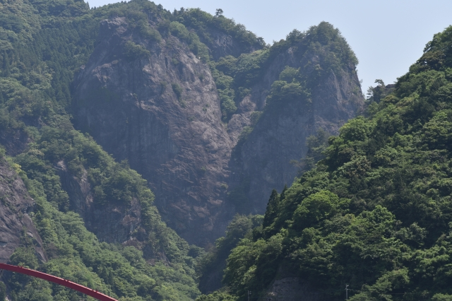 日向神峡 ハート岩