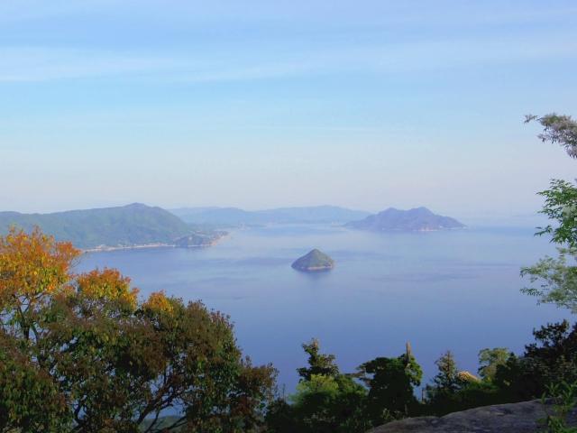 弥山からの景色