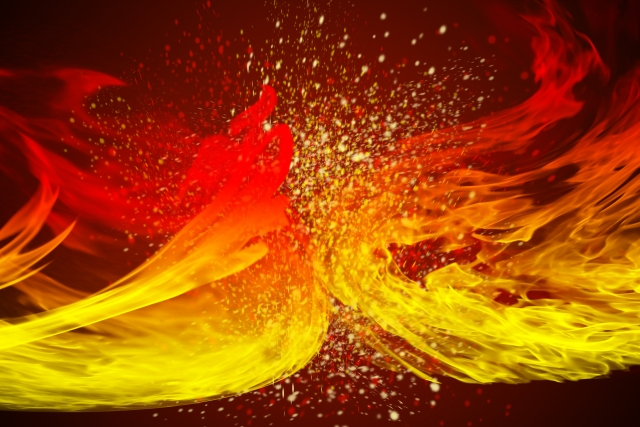 火属性のパワースポット イメージ